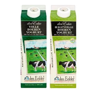 Den Eelder volle of halfvolle boerenyoghurt