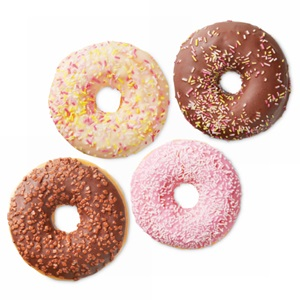 SPAR gedecoreerde donuts
