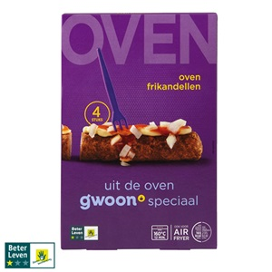 g'woon oven kroketten of frikandellen