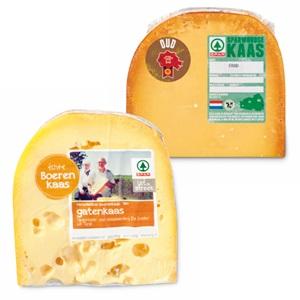 SPAR uit de streek boeren gatenkaas of SPARwoudse oude kaas