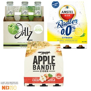 Amstel radler, Desperados, Jillz of Apple Bandit
