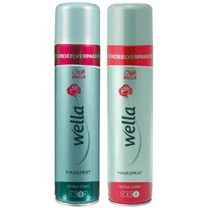 Wella hairspray of haarmousse