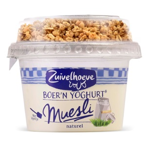 Zuivelhoeve boer'n yoghurt of vla