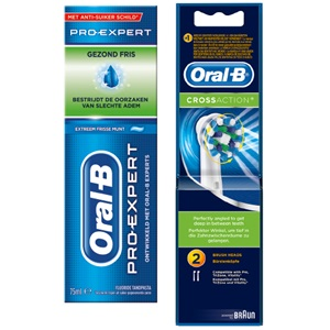 Oral-B tandpasta of tandenborstel