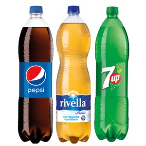 Pepsi, SiSi, 7UP of Rivella