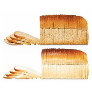 ambachtelijk bruin- of witbrood