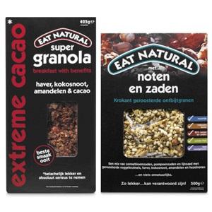 Eat Natural ontbijtgranen of repen