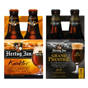 Hertog Jan karakter, grand, prestige, tripel of enkel