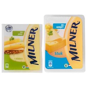 Milner kaasplakken of stukken