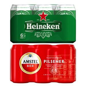 Heineken of Amstel pils