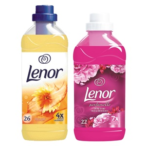 Lenor wasmiddel of wasverzachter