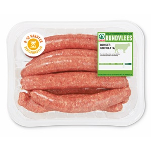 SPAR runderbraadworst of -chipolata