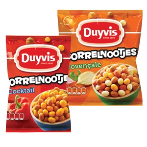 Duyvis borrel-, tijgernootjes of unsalted