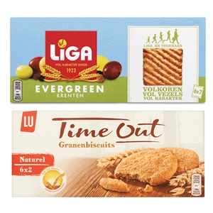 Liga Evergreen of Time Out granenbiscuits