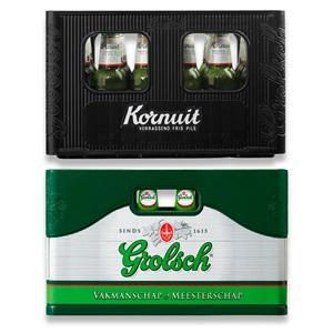 Grolsch pils of Kornuit