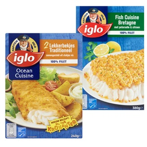 Iglo Fish of Ocean Cuisine