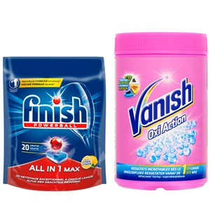 Vanish poeder of Finish