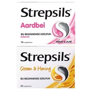 Tip: Strepsils zuigtabletten