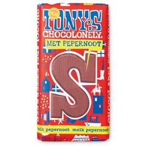 Tony's Chocolonely melk pepernoot