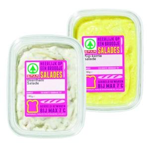 SPAR ambachtelijk verpakte salades