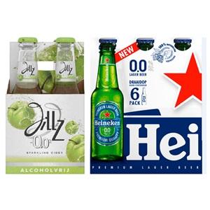 Amstel, Heineken, Brand of Jillz alcoholvrij