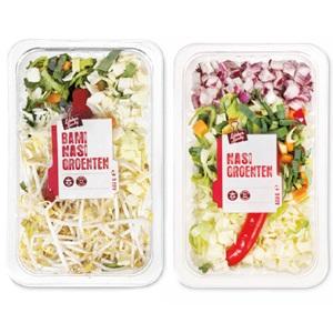 macaroni/spaghetti-, nasi- of bamigroenten