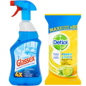 Glassex, Cilit Bang of Dettol
