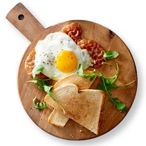 een warm ontbijtje