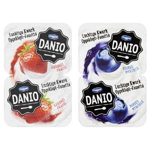 Danio romige of luchtige kwark