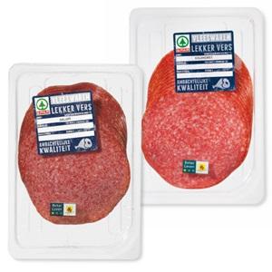 SPAR Elzasser cervelaat, snijworst of salami