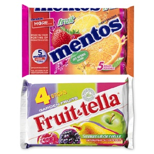 Mentos of Fruittella