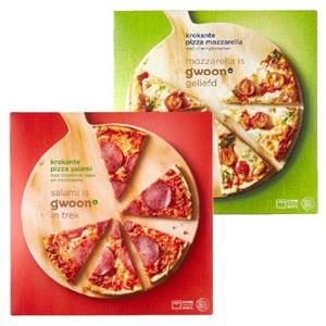 g'woon krokante pizza