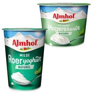 Almhof naturel kwark of yoghurt