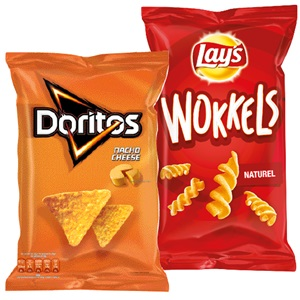 Doritos, Lay's Mixups, Wokkels of Sensations