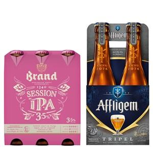 Affligem of Brand speciaalbier