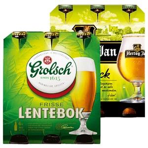 Brand, Grolsch of Hertog Jan lentebock