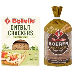Bolletje ontbijt-, lichte crackers of boerenbeschuit