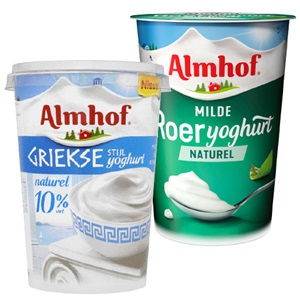 Almhof naturel kwark of yoghurt