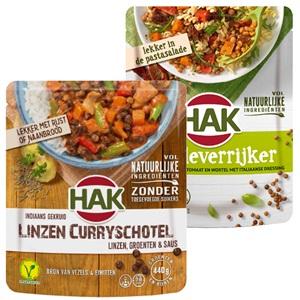 HAK saladeverrijkers, stazakken of soep in zak