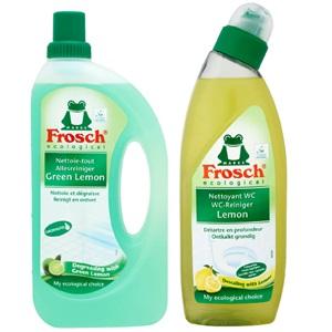Frosch eco schoonmaakmiddelen