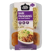 Daily Chef Bami Gorent Met Babi Pangang