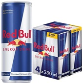 Red Bull Energiedrank Regular 4X25CL