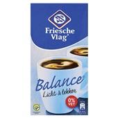 Friesche Vlag Koffiemelk Balance 0% Vet