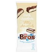 Bros Chocolade Tablet Melk Wit