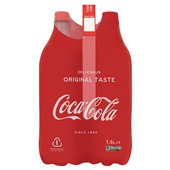 Coca Cola regular 4x1,5 liter