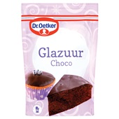 Dr. Oetker Glazuur Chocolade voorkant