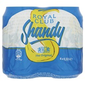Royal Club Frisdrank Shandy