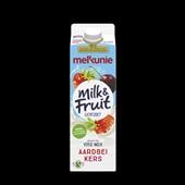 Melkunie Milk & Fruit Drinkyoghurt Aardbei Kers