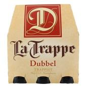 La Trappe trappist dubbel fles 6x30 cl