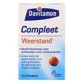 Davitamon Vitaminen En Mineralen Compleet Weerstand